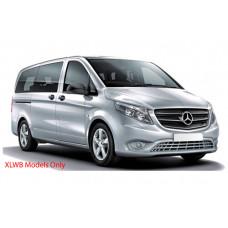 Sonnenschutz Blenden für Mercedes-Benz Vito W447 Extra Lang (Länge 5370mm)