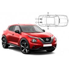 Sonnenschutz Blenden für Nissan Juke 2019-