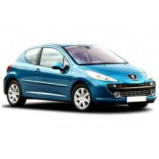 Sonnenschutz Blenden für Peugeot 207 3 Türen 2006-2012