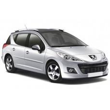 Sonnenschutz Blenden für Peugeot 207 Kombi 2007-2012
