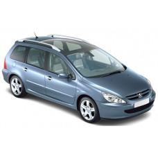 Sonnenschutz Blenden für Peugeot 307 SW Kombi 2003-2008