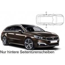 Sonnenschutz Blenden für Peugeot 508 SW Kombi 2011-2018-nur hintere Seitentürenscheiben