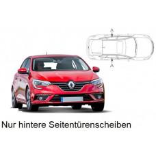 Sonnenschutz Blenden für Renault Megane IV - 5 Türen 2016- nur hintere Seitentürenscheiben