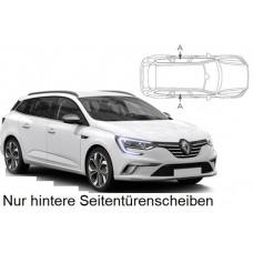 Sonnenschutz Blenden für Renault Megane IV Grandtour Kombi 2016- nur hintere Seitentürenscheiben