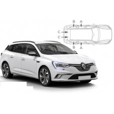 Sonnenschutz Blenden für Renault Megane IV Grandtour Kombi 2016-