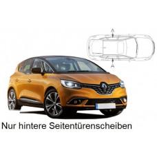 Sonnenschutz Blenden für Renault Scenic 5 Türen 2017- nur hintere Seitentürenscheiben