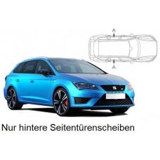 Sonnenschutz Blenden für Seat Leon ST (Typ 5F) Kombi - nur hintere Seitentürenscheiben