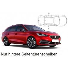 Sonnenschutz Blenden für Seat Leon ST Kombi (Typ KL 2020-) nur hintere Seitentürenscheiben