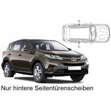 Sonnenschutz Blenden für Toyota Rav4 5 Türen 2012-2018 nur hintere Seitentürenscheiben