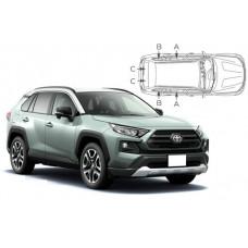 Sonnenschutz Blenden für Toyota Rav4 5 Türen 2019-