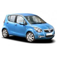 Sonnenschutz Blenden für Opel Agila 5 Türen 2008-2015
