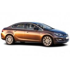 Sonnenschutz Blenden für Opel Astra J 4 Türen Stufenheck 2013-2015