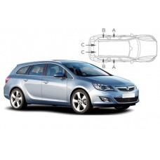 Sonnenschutz Blenden für Opel Astra J Sports Tourer Kombi  2010-2015