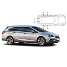 Sonnenschutz Blenden für Opel Astra K Sports Tourer 2016-