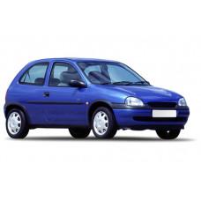 Sonnenschutz Blenden für Opel Corsa 3 Türen 1992-2000