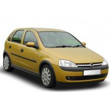 Sonnenschutz Blenden für Opel Corsa C 5 Türen 2000-2006