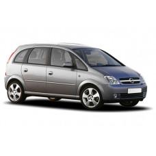 Sonnenschutz Blenden für Opel Meriva 5 Türen 2003-2009