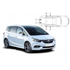 Sonnenschutz Blenden für Opel Zafira C 5 Türen Tourer 2012-2019