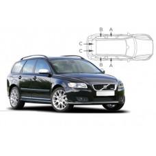 Sonnenschutz Blenden für Volvo V50 Kombi 2004-2012