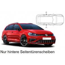 Sonnenschutz Blenden für Volkswagen Golf 7 Variant Kombi 2013-2020 nur hintere Seitentürenscheiben