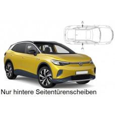 Sonnenschutz Blenden für Volkswagen ID.4 SUV 2020- nur hintere Seitentürenscheiben