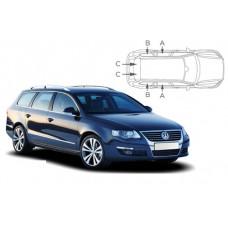 Sonnenschutz Blenden für Volkswagen Passat Kombi B6 2005-2010