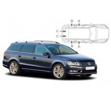 Sonnenschutz Blenden für Volkswagen Passat Kombi B7 2010-2015