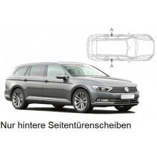 Sonnenschutz Blenden für Volkswagen Passat Kombi B8 2015- nur hintere Seitentürenscheiben