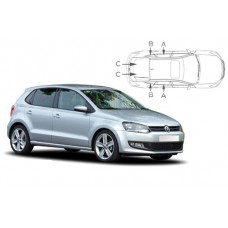 Sonnenschutz Blenden für Volkswagen Polo 5 Türen 2009-2017