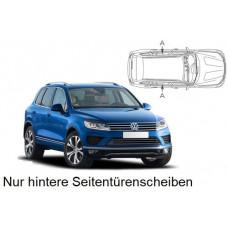 Sonnenschutz Blenden für Volkswagen Touareg Typ 7P 2010-2018 nur hintere Seitentürenscheiben
