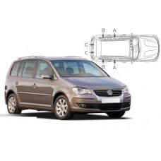 Sonnenschutz Blenden für Volkswagen Touran (Typ 1T) 5 Türen 2003-2010