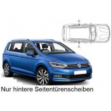 Sonnenschutz Blenden für Volkswagen Touran II (Typ 5T) 2015- nur hintere Seitentürenscheiben