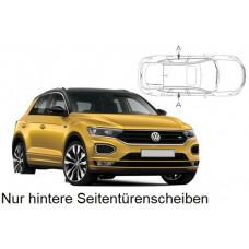 Sonnenschutz Blenden für Volkswagen T-Roc (Typ A1) 2017- nur hintere Seitentürenscheiben